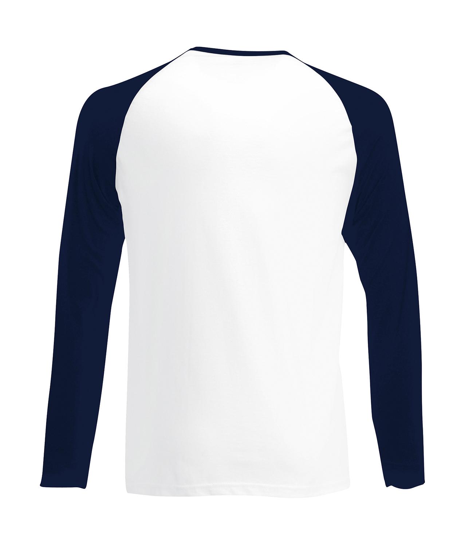 e85d6946 Fruit of the Loom Long Sleeve Baseball T-Shirts – 8Merch