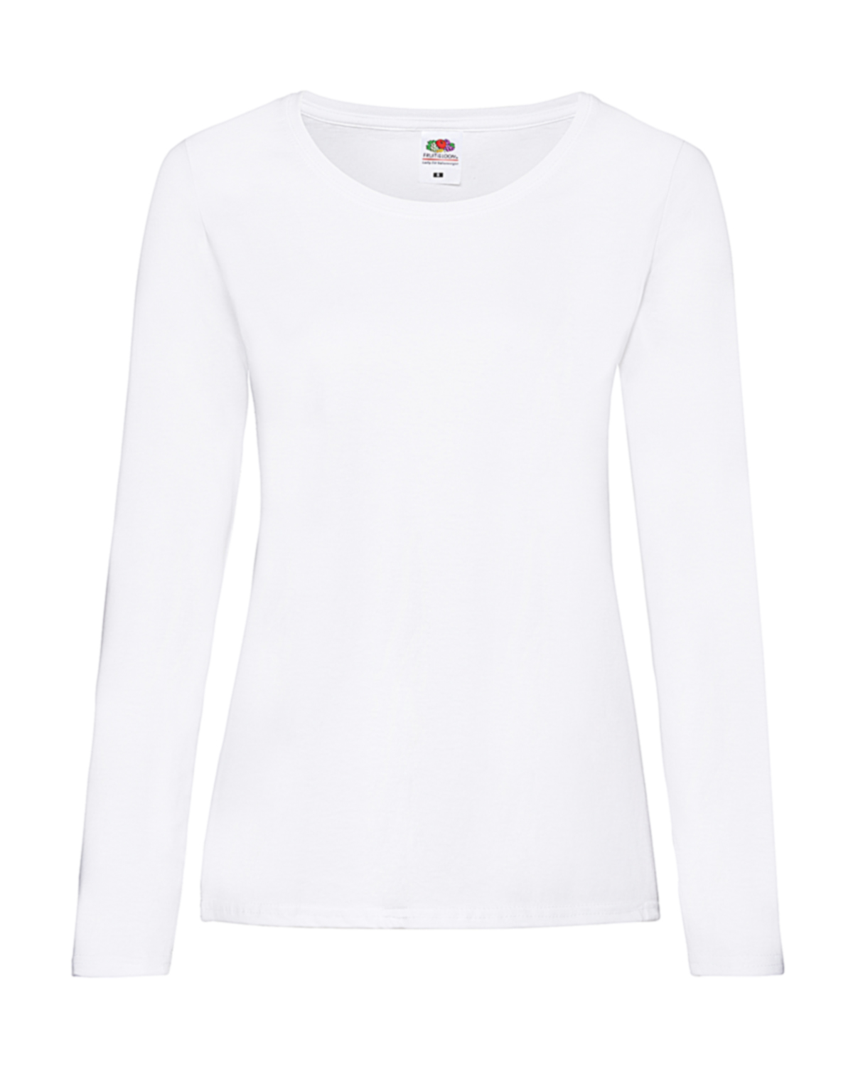37160629 Fruit of the Loom Valueweight Lady-Fit Long Sleeve T-Shirts – 8Merch